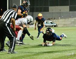 Ignacio Valero RB #23 touchdown Team Spain