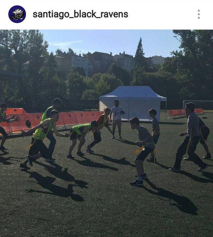 Festa do Deporte Compostela - Flag football y fútbol americano 2- Santiago Black Ravens