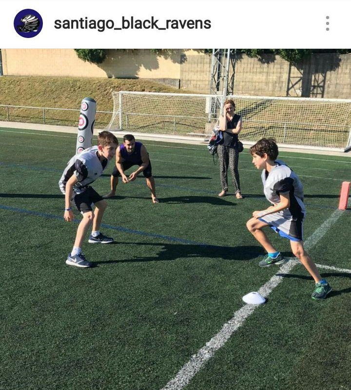 Festa do Deporte Compostela - Flag football y fútbol americano 1- Santiago Black Ravens