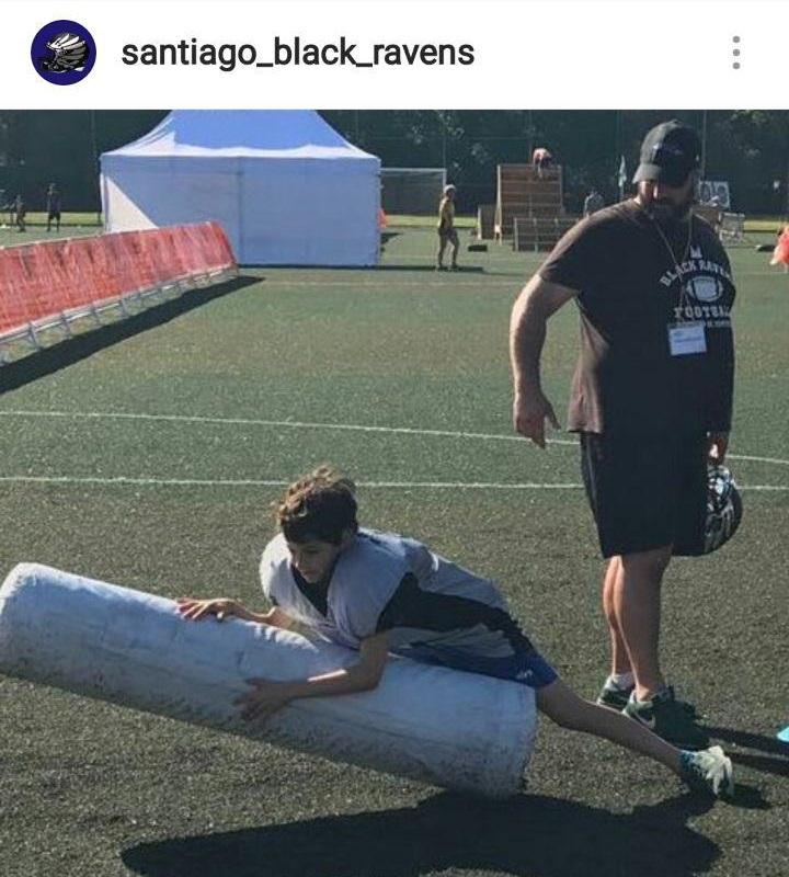 Festa do Deporte Compostela - Flag football y fútbol americano 3 Santiago Black Ravens
