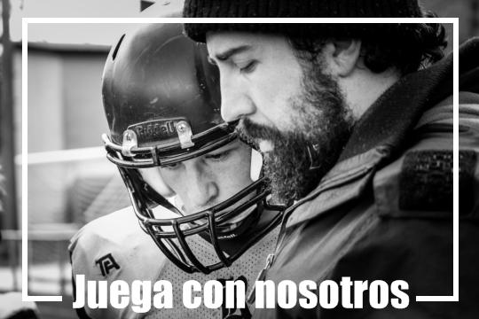 Hazte jugador de fútbol americano en Santiago Black Ravens