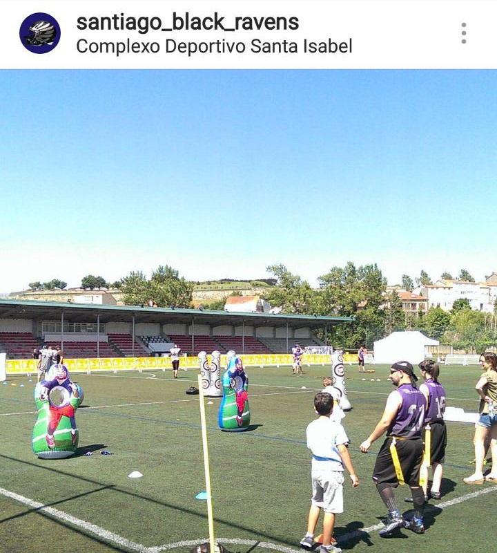 Festa do Deporte Compostela - Flag football y fútbol americano 4- Santiago Black Ravens