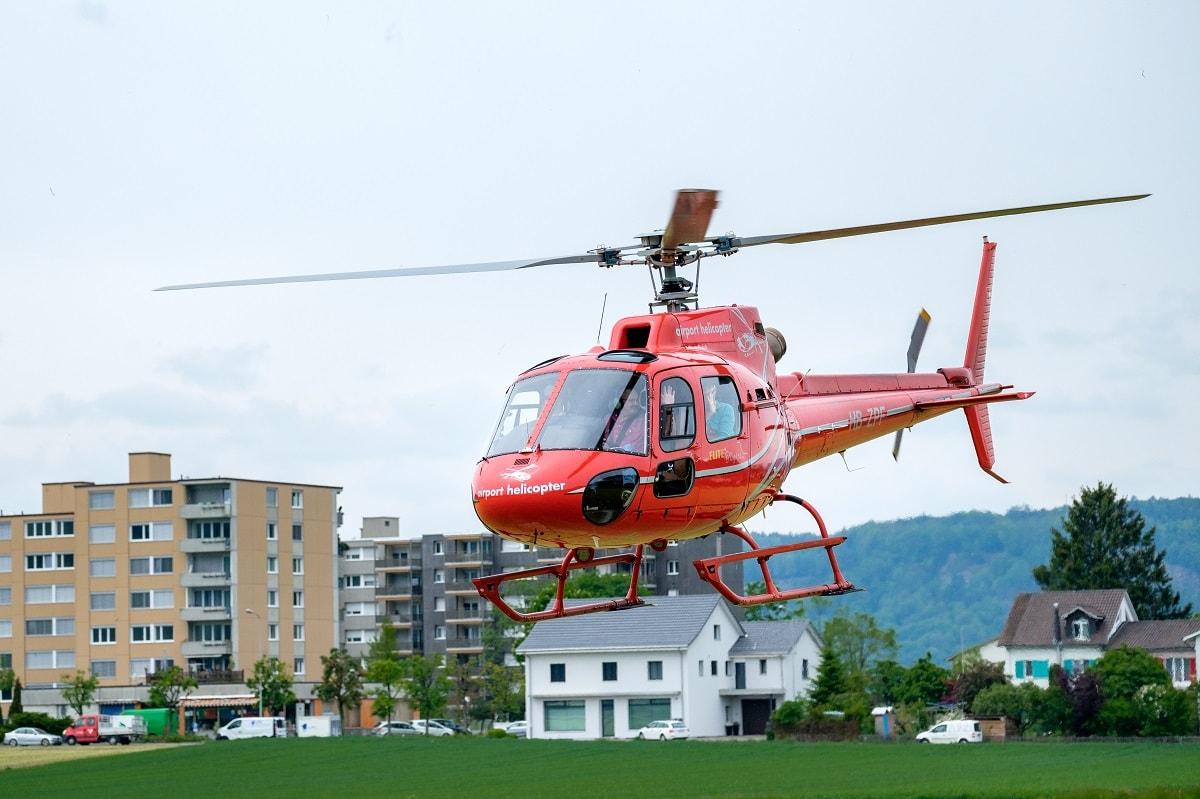 Elite Flights, AS 350 B2 Ecureuil, HB-ZPF, Rundflugtage UNDOB 2019 Obersiggenthal, Helikopter-Flotte Luzern-Beromünster