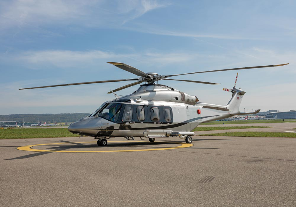 AW 139, Outside View