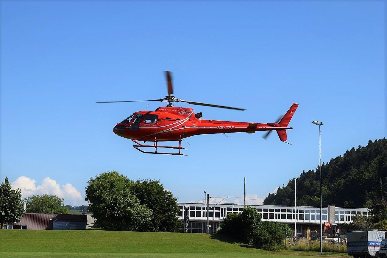 AS 350, HB-ZPF, Rundflugtage Rohrbach stellt aus, Departure