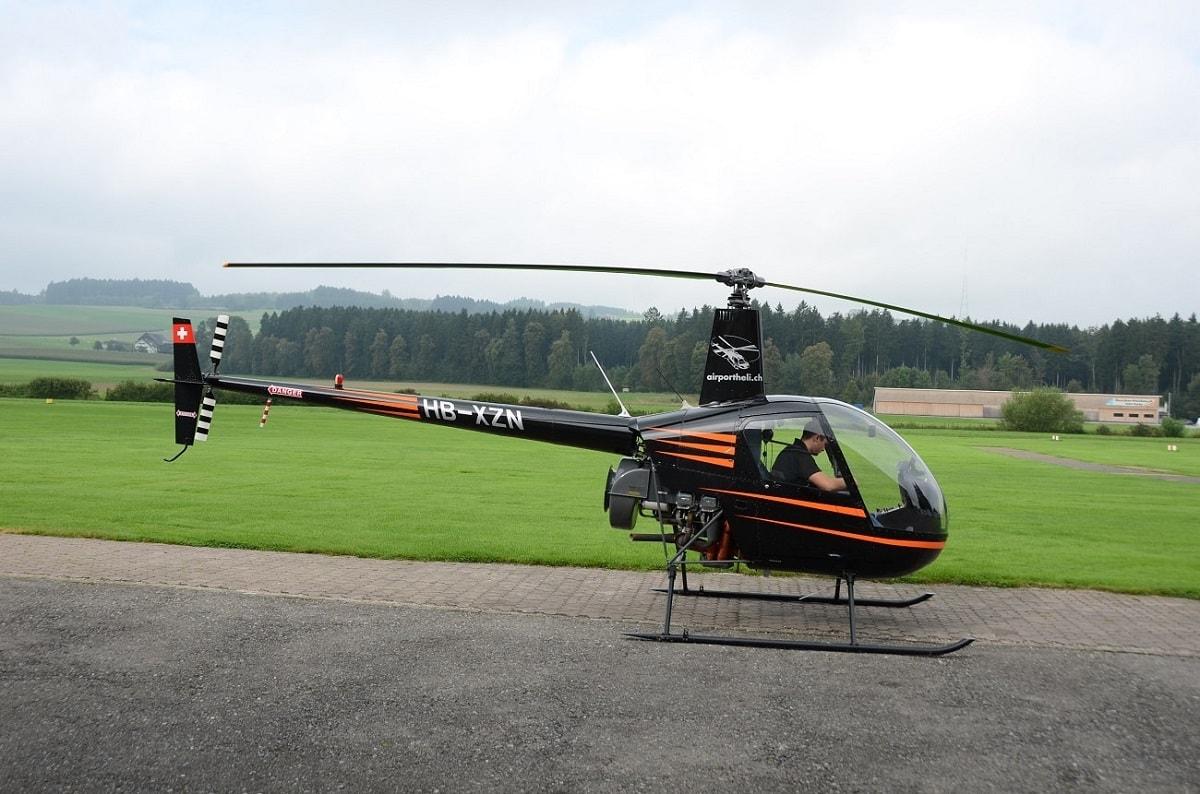 Elite Flights, HB-XZN, Robinson R22, Helikopter-Flotte Luzern-Beromünster, Grenchen, Basel