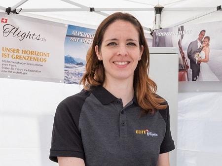 Elite Flights Team, Yvonne Känel,  Administration, Verkauf