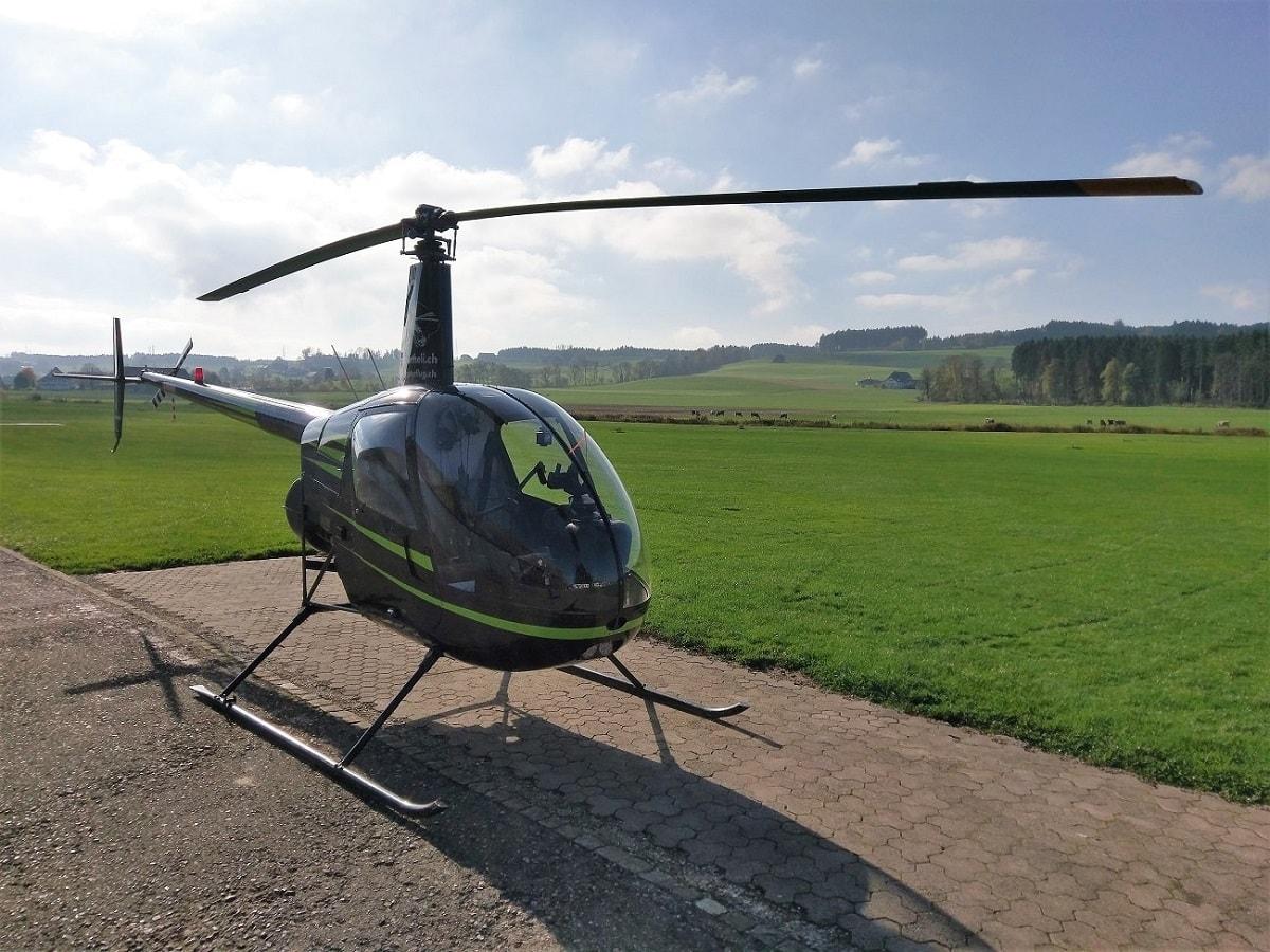 Elite Flights, Robinson R22, Helikopter-Flotte Luzern-Beromünster, Grenchen, Basel