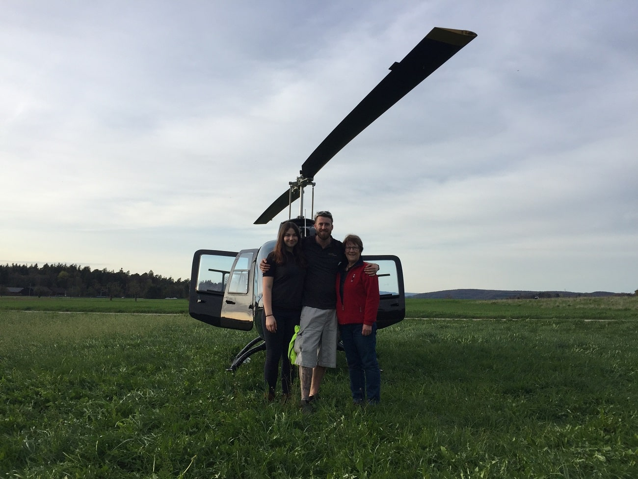Bell 206 Jet Ranger, HB-ZPZ, Rundflugtage Würenlingen, wüga'18
