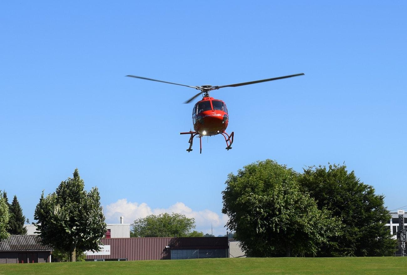 AS 350, HB-ZPF, Rundflugtage Rohrbach stellt aus, Approach