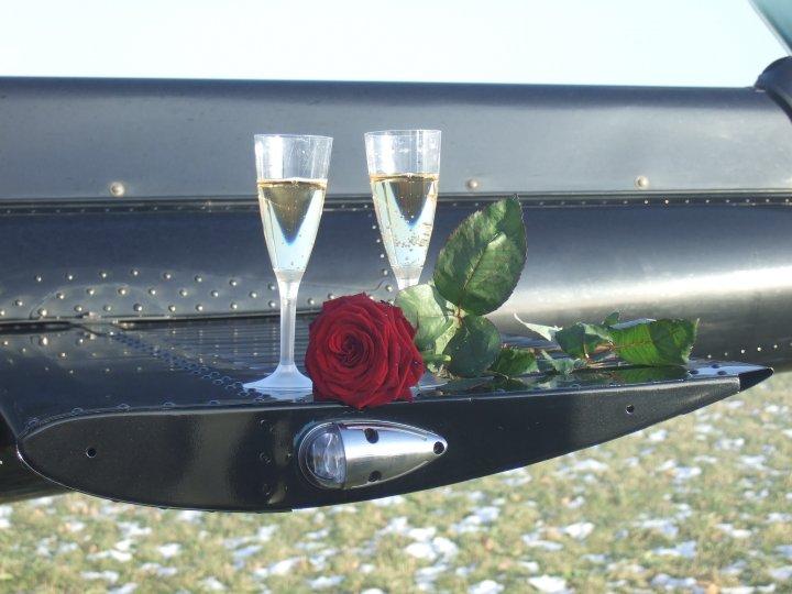 Hochzeitsflug schenken