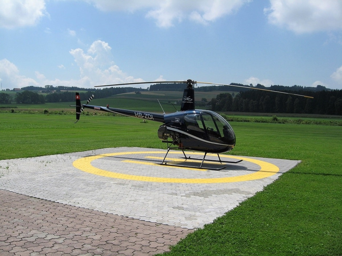 Elite Flights, HB-ZDI, Robinson R22, Helikopter-Flotte Luzern-Beromünster, Grenchen, Basel