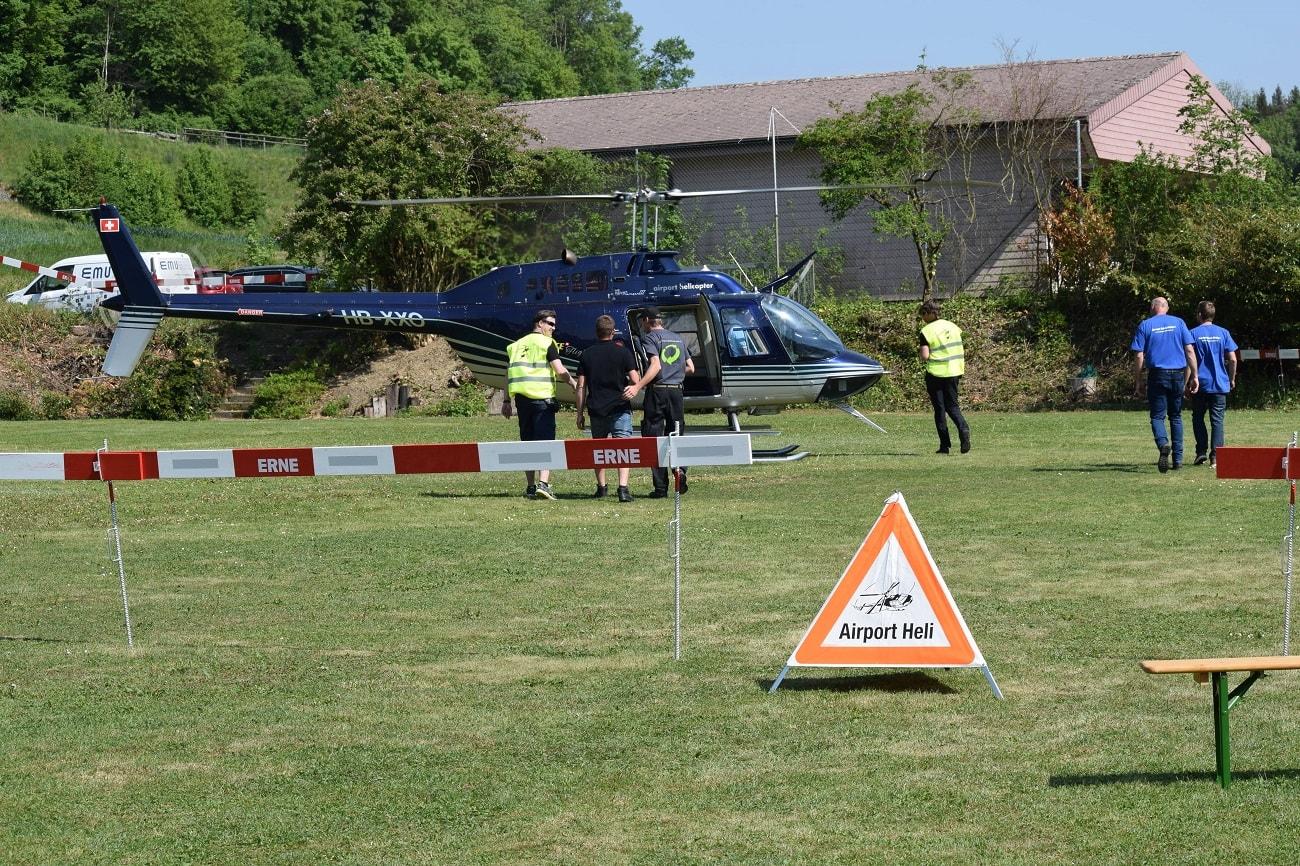 Bell 206 Jet Ranger, HB-XXO, Rundflugtage Mettau, Expo Duo