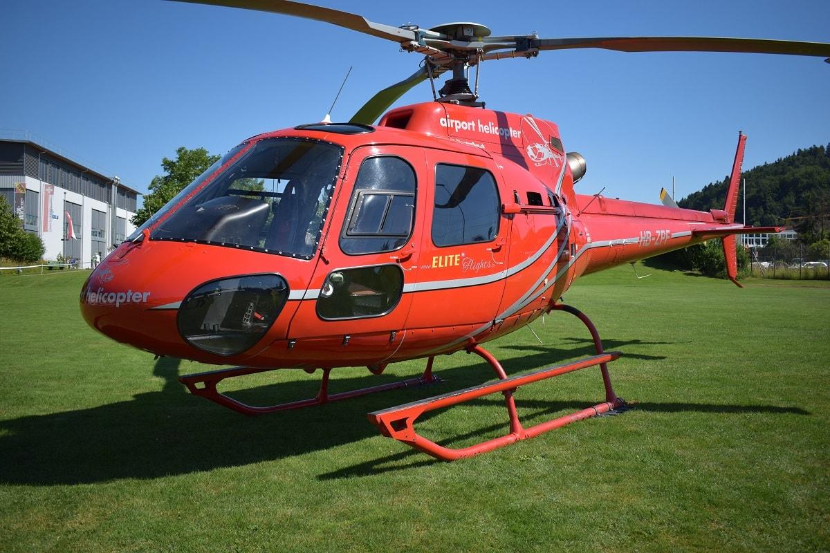 Elite Flights, AS 350 B2 Ecureuil, HB-ZPF, Rundflugtage Rohrbach, Helikopter-Flotte Luzern-Beromünster