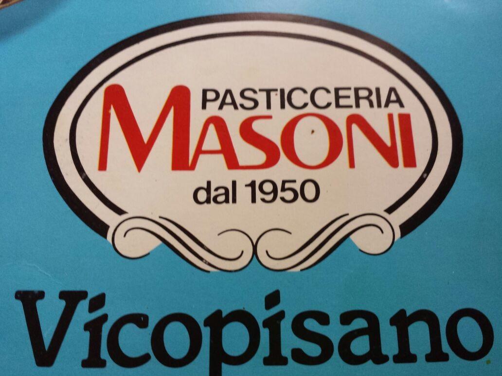 Pasticceria Masoni Vicopisano primo logo orginale