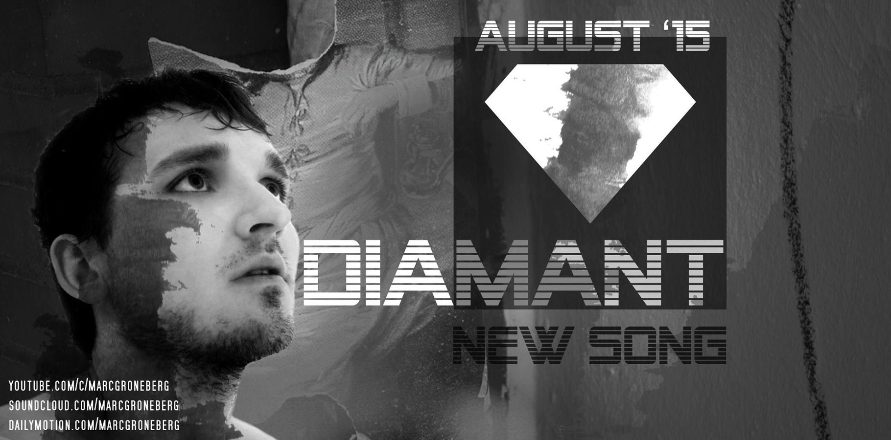 "New Song ""Diamant"" by #MarcGroneberg 
