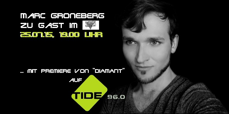 Radio Promo TIDE Hamburg | Photo © Marc Groneberg | #socialmedia  #marcgroneberg #radioshow
