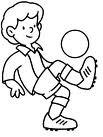 Caricatura Niño Jugando