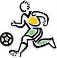 Caricatura de futbolista