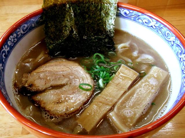 麺の樹ぼだい@西尾 和風豚骨らーめん ¥680