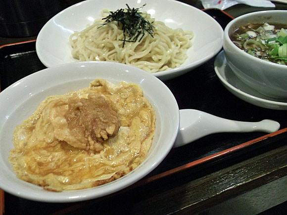 北京本店@安城 至福ランチ(つけ麺&北京飯) ¥900