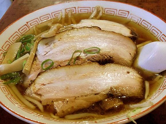平和園@昭和区 特製チャーシュー麺 ¥450