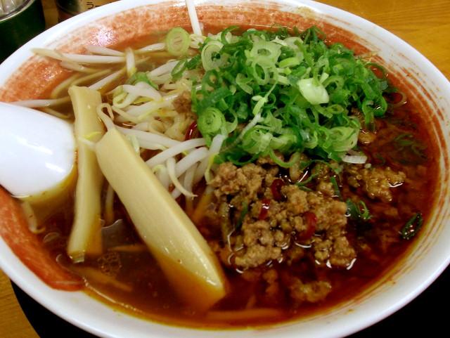 らーめん食堂 麺道場@安城 台湾らーめん ¥650