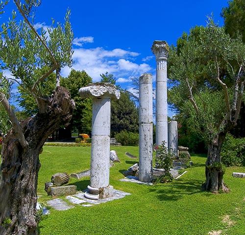 Il parco archeologico dell'Hotel Neroniane