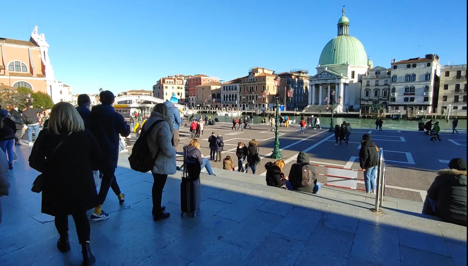 Raggiungere Venezia in treno