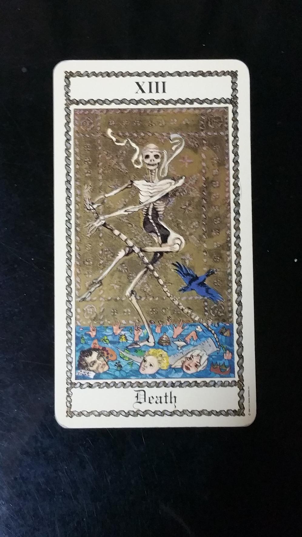 死神は実は新しい幕開けを示すカード