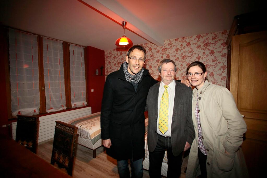 """Julien Courbet en visite """"La Maison de Papidan"""""""