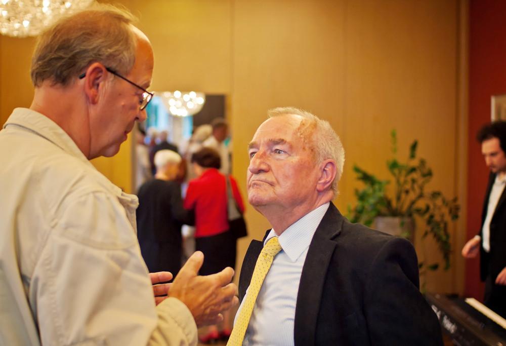 Wolfgang Henschke im Gespräch mit Dr. Eberhard Straub