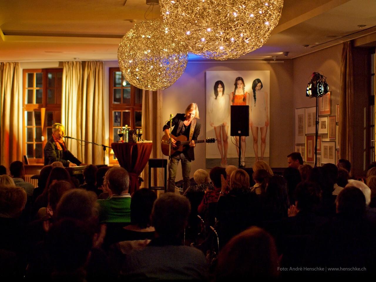 Publikum und Künstler