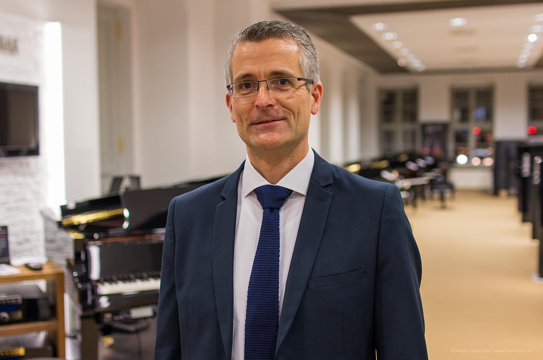 Dirk Riedel von der ICM Investmentbank, Förderer der Literaturlounge