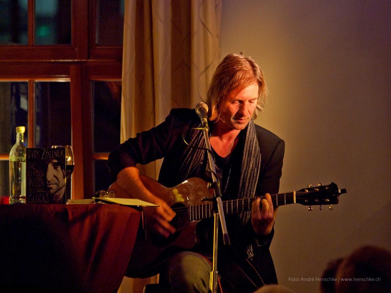 Dirk Zöllner und neben seiner Stimme sein zweites Werkzeug