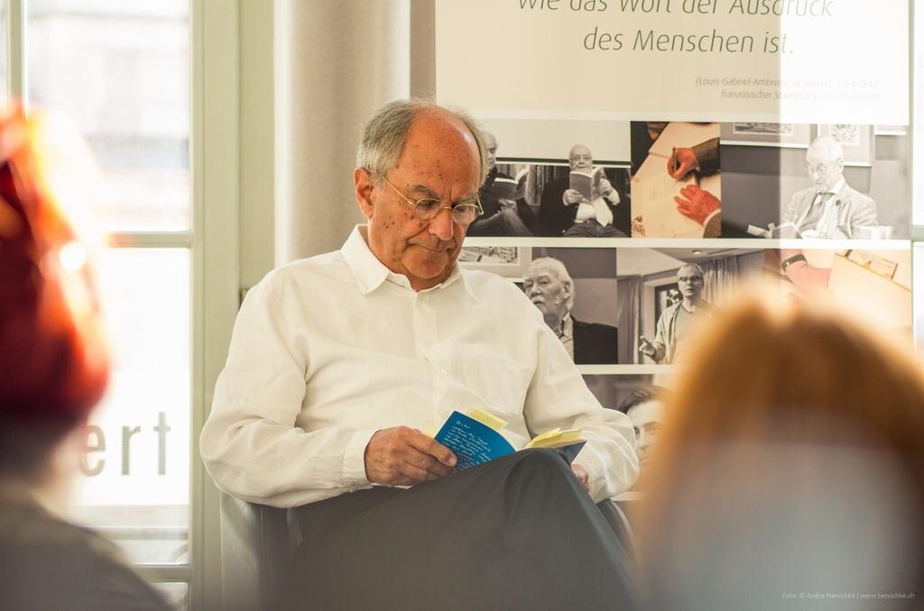 """Autor Claus Böhm liest Gedichte und Erzählungen aus seiner Trilogie """"Gegenlicht"""""""