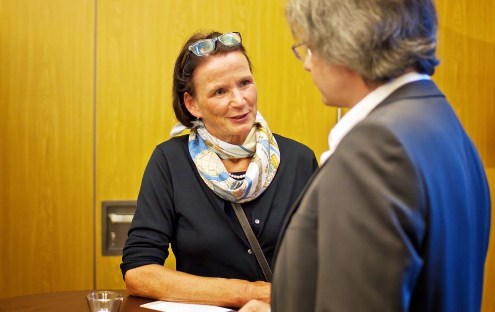 Thekla Twietmeyer im Gespräch mit Johannes Beck