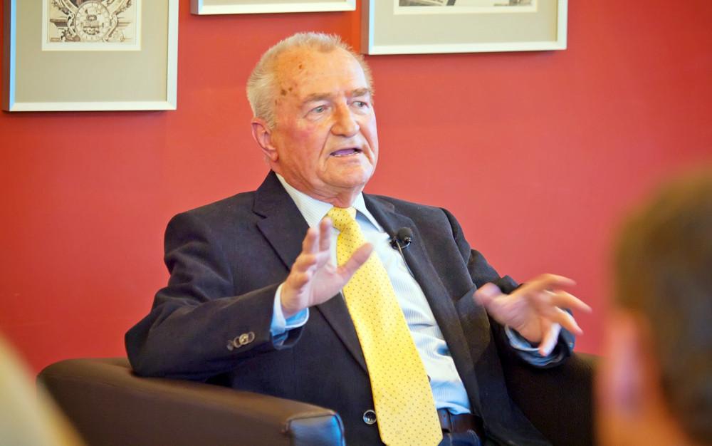 Dr. Eberhard Straub sieht Wagner als Inspirator für Musiker bis in die Gegenwart