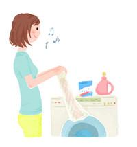 洗える着物 洗濯機