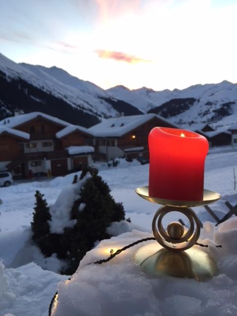 Kerzenständer beim Kunden in Sedrun