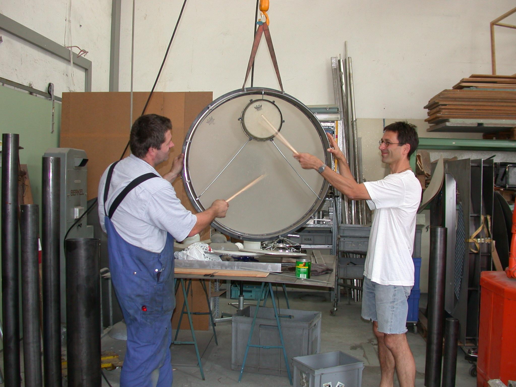 Entwickeln einer wasserfesten, doppelten Trommel