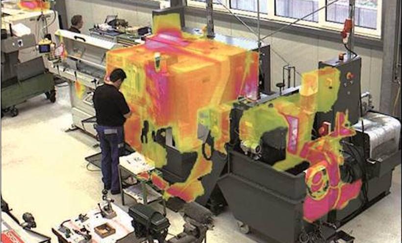 Wärmebilderkennung an Maschinen in Industrie und Produktion