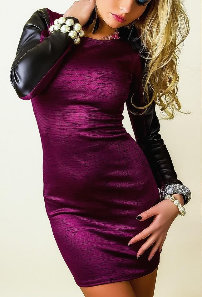 Langarm-Kleider, longsleeve dresses: für kalte Tage - Rock-chic store