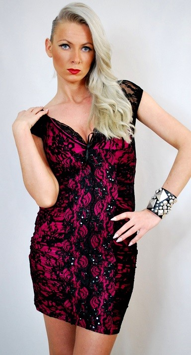 Abendkleider, Cocktail Glitzer prom dresses - Rock-chic store