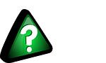 Grünes Fragezeichen