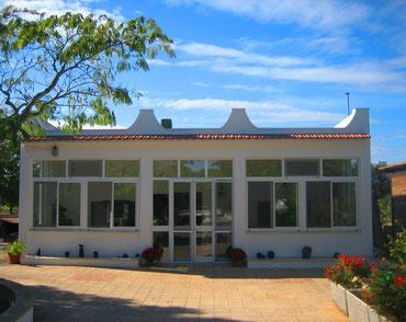 . . . das Landhaus im Januar 2013