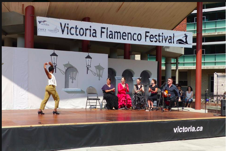Victoria Flamenco Festival - July 27th - 2 pm