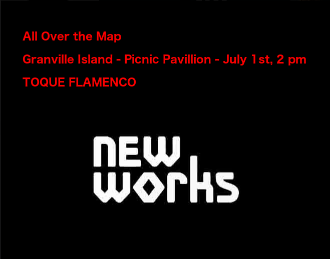 All Over the Map - Granville Island - July 1st, 2 pm