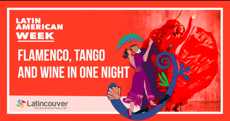 Flamenco, Tango and Wine - July 4 - 7.30 pm