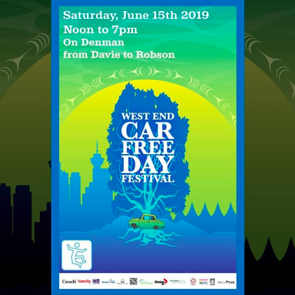 West End Car Free Day - June 15th, 6 pm